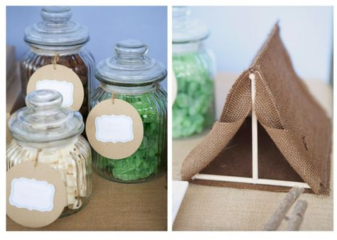 camping party - cute tents #kids #party