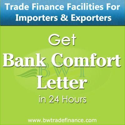Letter Of Comfort Mt799 For Huge Commodity Trade Dubai Trade