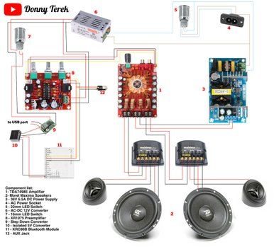 [SCHEMATICS_4HG]  INSANELY Loud 150W Bluetooth Speaker Boombox | Diy bluetooth speaker,  Bluetooth speakers diy, Speaker projects | Wiring Diagram For A Boombox |  | Pinterest