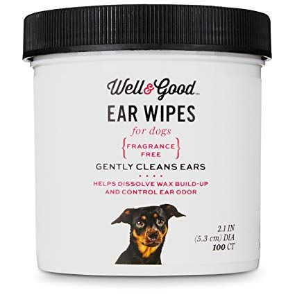 Well Good Small Dog Ear Wipes Review Dog Grooming Supplies Best Small Dogs Small Dogs