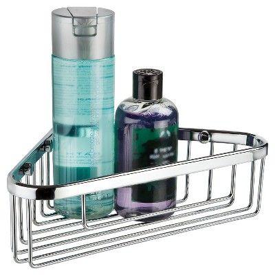 Better Living Products Bath Boutique 10 Corner Basket Chrome