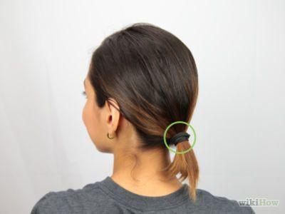 How To Make A Bun For Short Hair Short Hair Bun Short Hair Ponytail Messy Bun For Short Hair