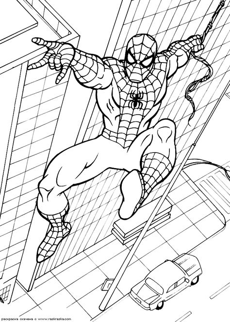 Spiderman Coloring Pages 5 Art Therapy Ausmalbilder