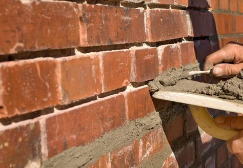 Masonry How To Repair Mortar Joints A Beginner S Guide To Tuckpointing Brick Repair Brick Restoration Mortar Repair