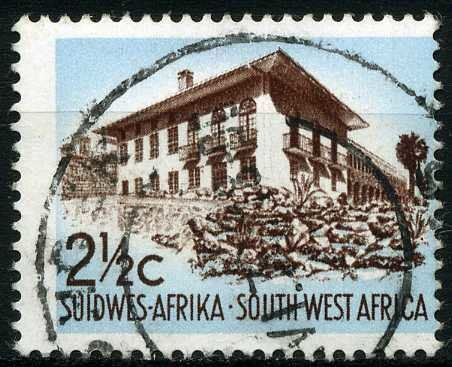 Stamp Residence South West Africa Country Motives Mi Na Sw 341 Sn Na Sw 320 West Africa Africa Southern Africa