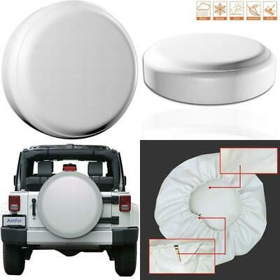 Amfor Spare Tire Cover Universal Fit For Jeep Trailer Rv Suv
