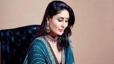 Kareena Kapoor Khan wears a lightweight Good Earth lehenga
