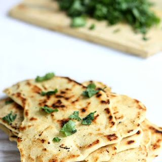 Garlic Vegan Naan Bread Recipe Recipes With Naan Bread Food