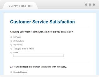 Customer Service Satisfaction  Sample Questionaire