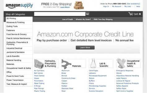 AmazonSupply rollt in den USA das B2B-Geschäft auf und bietet die Amazon-Service-Qualität auch für Business-Kunden an. (Screenshot: amazonsupply.com)