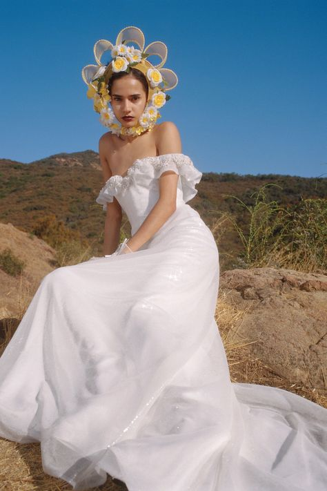In a year when nuptial celebrations are almost entirely up in the air, a little wedding dress escapism is more necessary than ever.