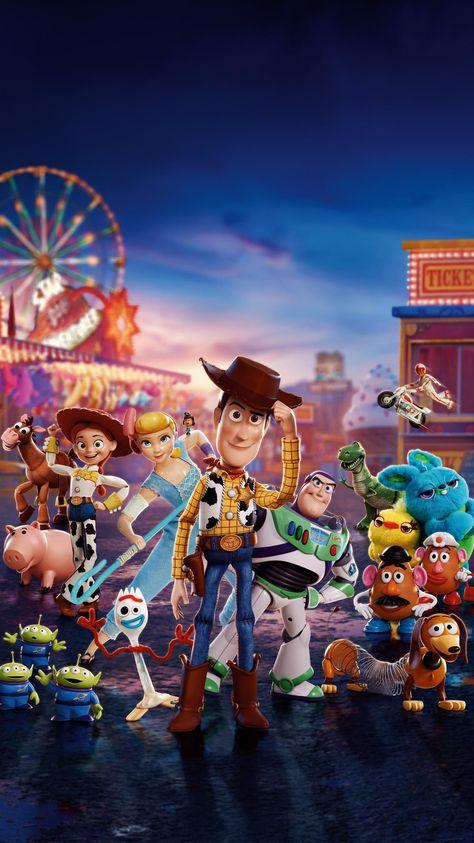 Toy Story 4 (2019) Phone Wallpaper | Moviemania