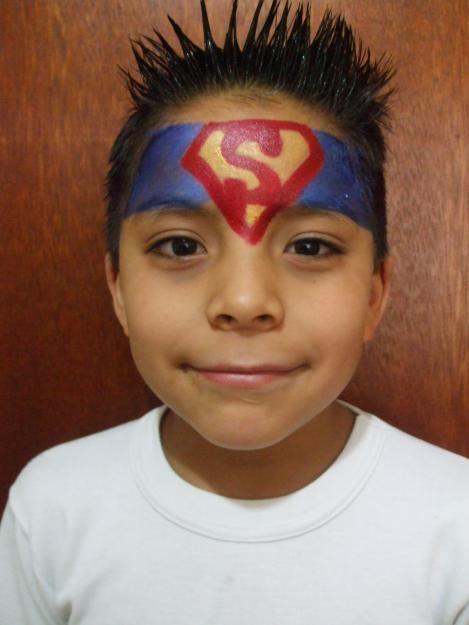 superman schminken