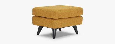 Super Mid Century Modern Ottomans Benches Footstools Joybird Uwap Interior Chair Design Uwaporg
