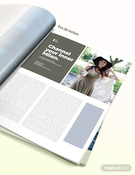 Free Blogger Magazine Ads Template Ad Paid Blogger Free Magazine Template Ads Magazine Ads Indesign Business Person