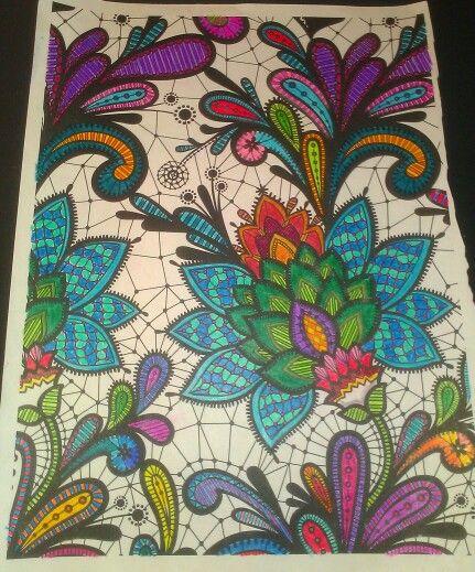 Color Flower Mandala