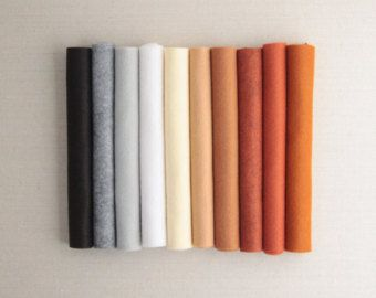 The Mosey Palette Wool Felt For Pattern Benzie Guest Curator