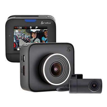 Cobra Electronics Drive Hd Dual View Dash Camera With Iradar Kit With Images Dashcam Dash Camera Red Light Camera