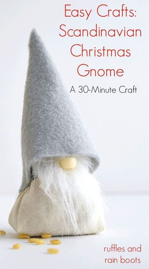 Christmas Gnomes Pinterest.Make This Adorable Diy Christmas Gnome Craft In 30 Minutes