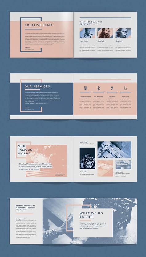 Pro Brochure Template. 20 Pages