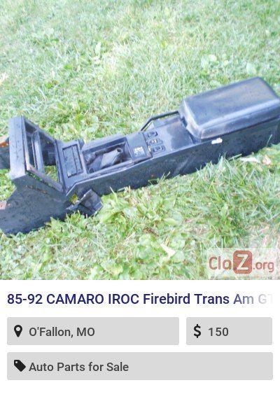 85 92 Camaro Iroc Firebird Trans Am Gta Shift Plate Console 5 Speed Manual T5 Console Trans Am Gta Firebird Trans Am Camaro Iroc