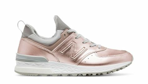 new balance 574 rosa oro