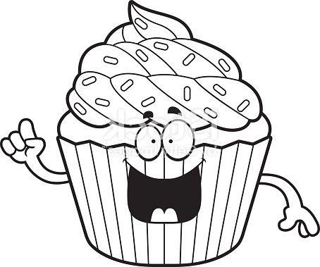 Dessin Cupcake Idee Gm Cupcakebabyshower Cupcakebirthdayimages