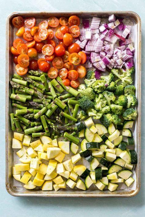 Roasted Vegetable Pasta Salad (Dairy Free, Vegan)- Simply Whisked