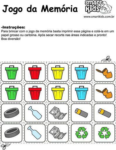 Alfabetizacao Cefapro Pontes E Lacerda Mt Algumas Ideias Para Trabalhar Em Sala Atividades De Reciclagem Para Criancas Reciclagem Para Criancas Atividades