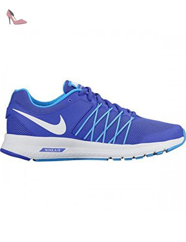 nike nike zoom vomero 9 chaussures de running entrainement homme bleu ( bleu noir lime blanc) 44.5 e