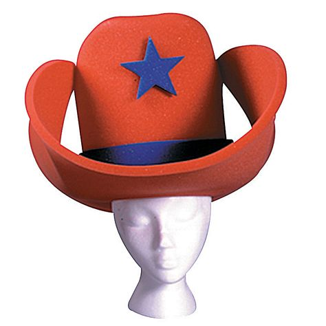 40 Gallon Hat Red