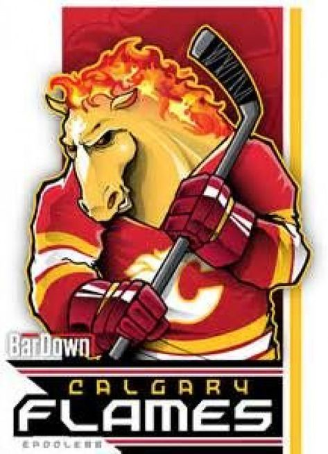 NHL Cartoon Mascots Bardown - - Yahoo Image Search Results #icehockey #ice #hockey #cartoon