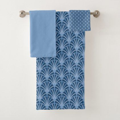 Chambray Block Japanese Bath Towels In 2020 With Images Japanese Bath Pattern Blocks Japanese Traditional