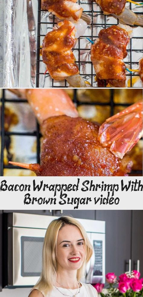 Bacon Wrapped Shrimp is het perfecte fingerfood. Een geweldige combinatie van zoet en savo ...,  #Bacon #BaconWrappedsmokies #combinatie #een #fingerfood #geweldige #het #perfecte #savo #Shrimp #van #wrapped #zoet