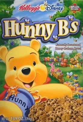 Hunny B/'s Cereal Box FRIDGE MAGNET winnie the pooh