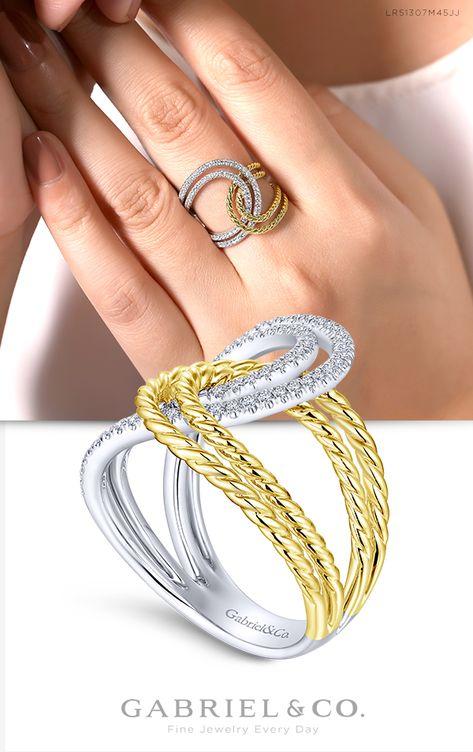 DiamondJewelryNY Rings Sterling Silver Freeform Ring