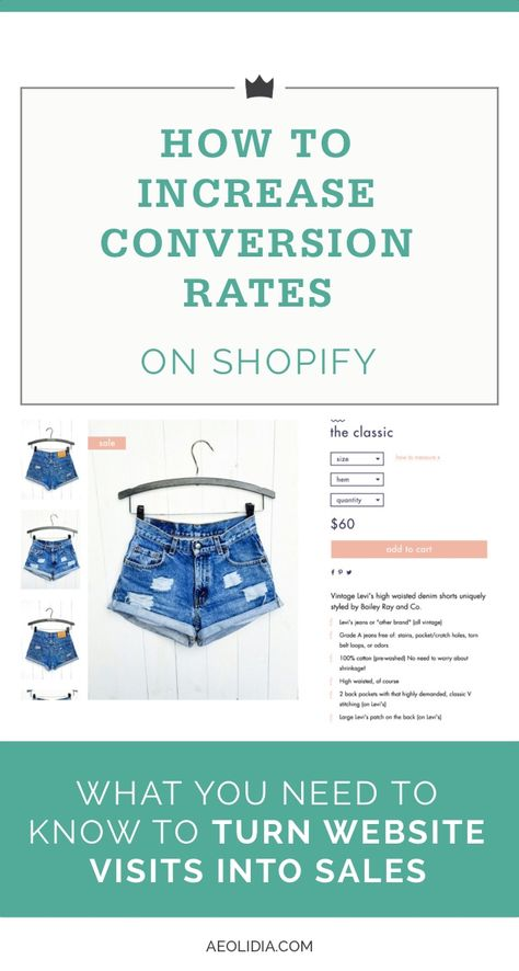 How to Increase Conversion Rates on Shopify Ecommerce Stores