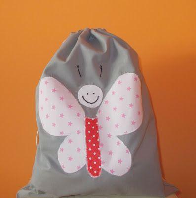Worek Na Buty Motyl Bags Laundry Bag Backpacks