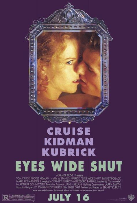 Eyes Wide Shut New York City doctor, who is married to an art curator, pushes himself on a harrowing and dangerous night-long odyssey of sexual and moral discovery after his wife admits that she once almost cheated on him.