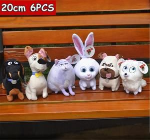 The Secret Life Of Pets 2 Movie Plush Toys Stuffed Soft Cat Dog