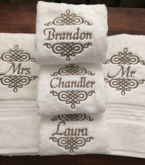 Face Cloth 30x30cm Bath Towel or Bath Sheet Personalised with POLAR BEAR logo and name of your choice Hand Towel EFY Face Cloth