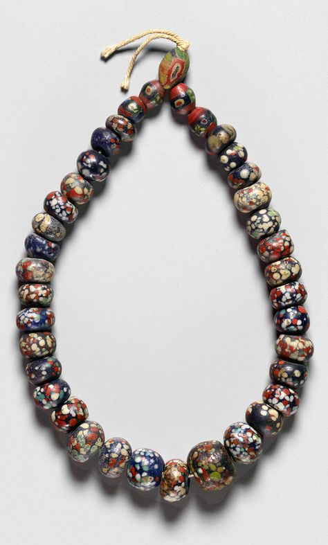 Collectible Vintage Islamic Glass Phoenician Style Bird Peacock Old Bead Pendant