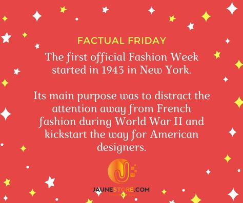 facebook #fridayfacts #fashionfriday...