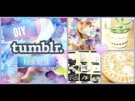 Diy tumblr inspired fandom room decor with glamwithjessie youtube fashion pinterest room decor fandom and room