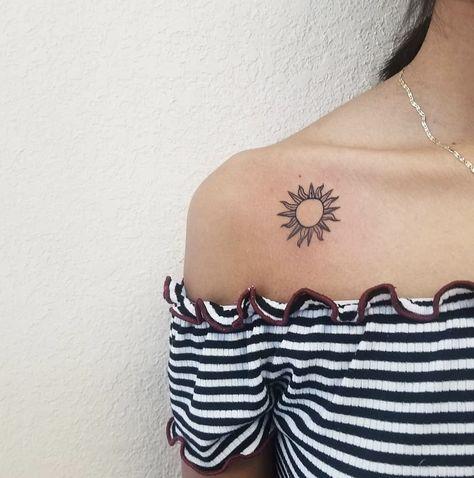 Sun tattoo... IG: _anngtxtts