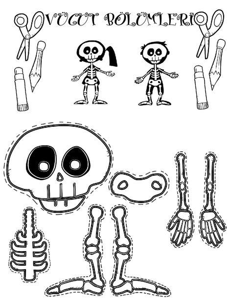 Etkinlikarsivim Adli Kullanicinin Iskelet Sistemi Panosundaki Pin Boyama Sayfalari Sanat Etkinlikleri Sanat