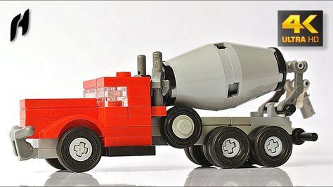 Lego Ass Porn - Small Lego Concrete Mixer Truck - Updated Version (MOC - 4K ...