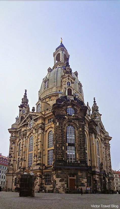 Frauenkirche Dresden Germany The War Did Not Spare The Frauenkirche The Symbol Of Dresden Was Destroyed During February S Bom Travel Germany Travel Dresden