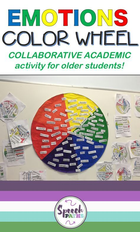 How To Implement Social And Emotional >> Activities To Build Emotional Vocabulary Skills In Older Students