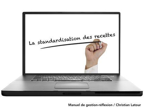 Standardisation Un Puissant Outil De Gestion 430 738 Me Hrimag Hotels Restaurants Et Institutions Gestion Marchandisage Strategie Marketing